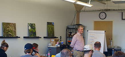 Cara hosts 5 day Practical Beer Taster Training Course at Cicerone® in Chicago